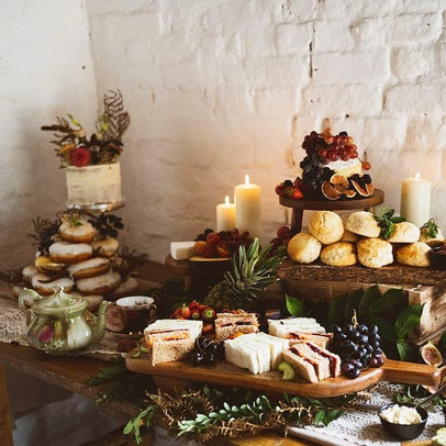 Rustic Afternoon Tea at Stanford Farm, Shropshire