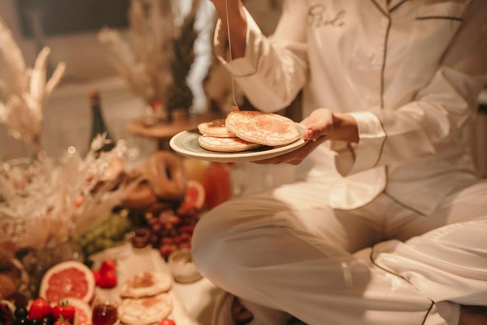 Wedding breakfast, Shropshire