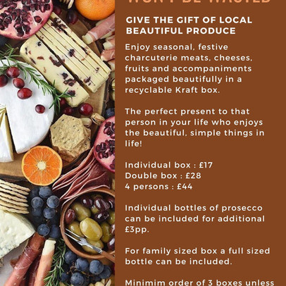 Festive Graze Boxes: Shop Local & Small