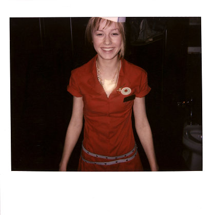 "Brie Larson – ""She Said"" music video wardrobe fitting Polaroid JPG NFT"