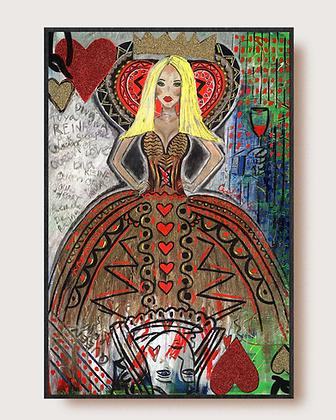 Queen of Hearts (Queen Cavalli) by Gilda Garza
