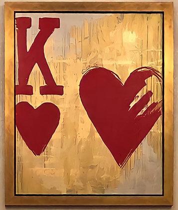 King of Hearts by Gilda Garza