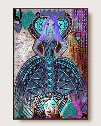 Queen of Hearts (Queen Cavalli) Cold by Gilda Garza