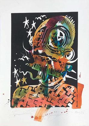 Brimstone by Retna Oaxaca Print
