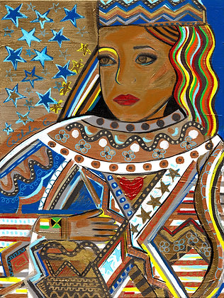 A New Hope: Queen Kamala by Gilda Garza & Synergy Studio