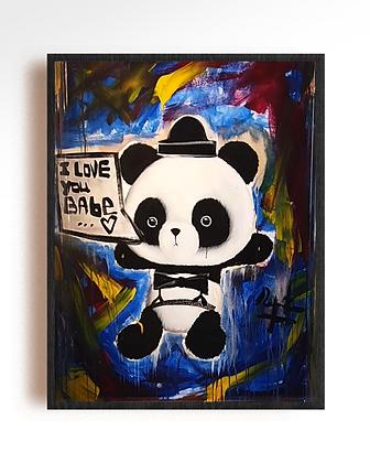 Panda by Domingo Zapata