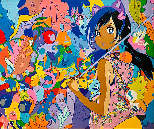 Anime of Color by Miguel Paredes