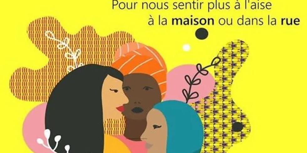Atelier d'auto-défense verbale destiné aux femmes vivant le racisme