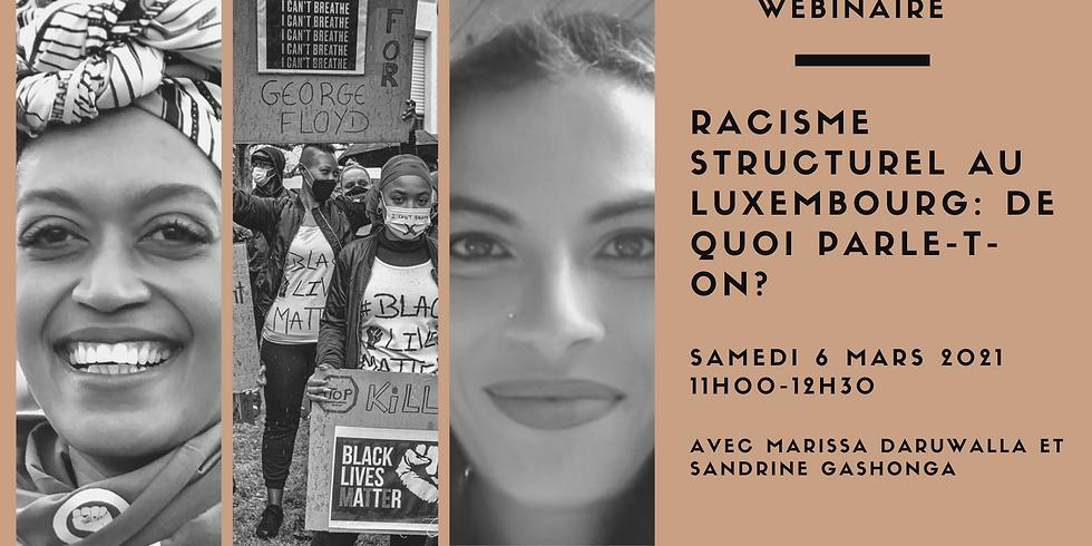 Racisme structurel au Luxembourg: de quoi parle-t-on?