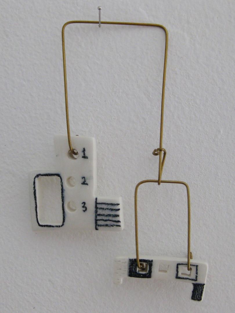 Mobiles en céramique