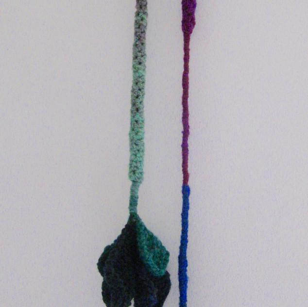 Accessoire en tricot