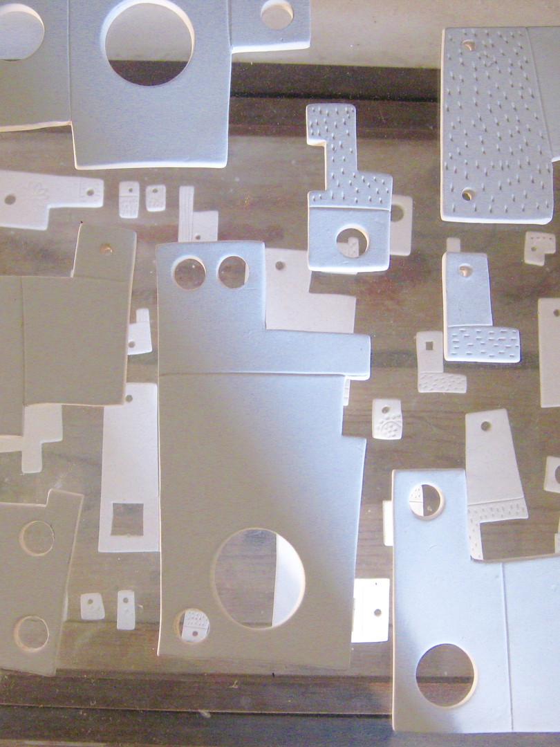 Installation de céramique