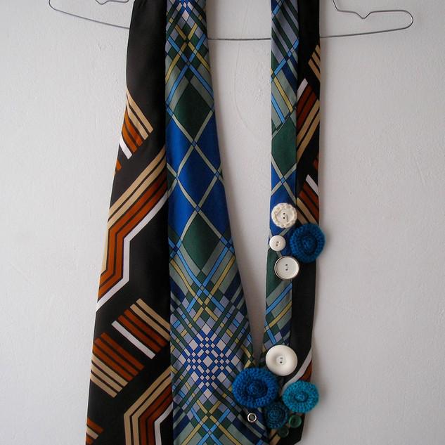 Accessoires fait de cravates