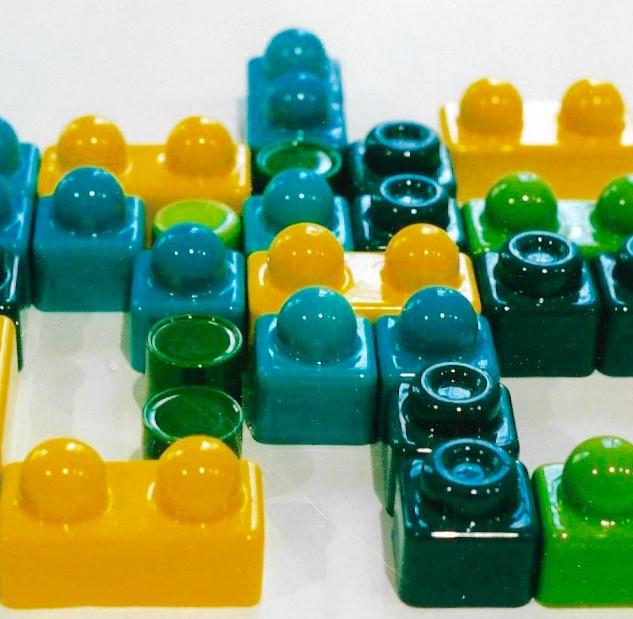 Lego en céramique