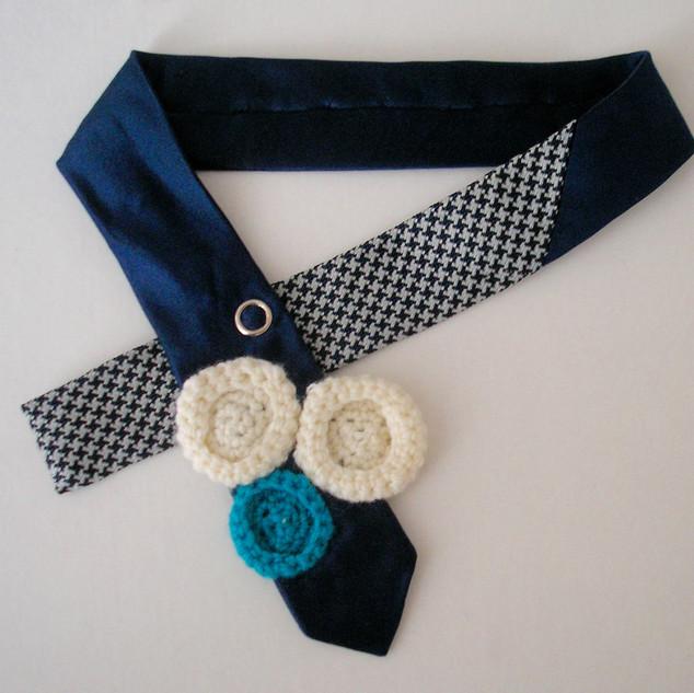 Accessoire fait de cravate
