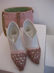 Chaussures et sac à main en porcelaine
