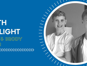 Youth Spotlight: Mason and Brody Cooper