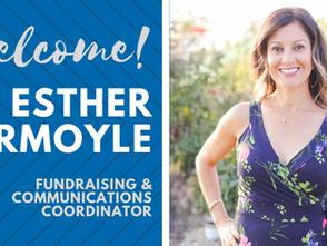 New Staff Member Spotlight: Esther Normoyle