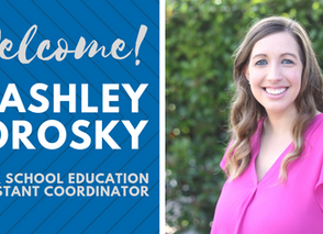 Staff Spotlight: Ashley Morosky