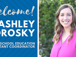 Staff Spotlight: Ashley Morosky