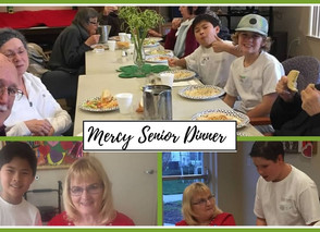 Outreach Spotlight: Mercy Creekview Manor Senior Dinner