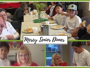 Outreach Spotlight: Mercy Creekview Manor Senior Dinner