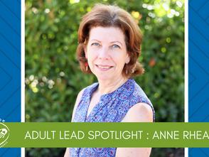 Adult Spotlight: Anne Rhea