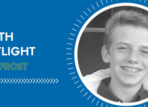 Youth Spotlight: Kyle Frost