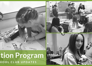 Education Program: Middle School Updates