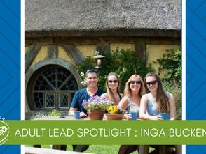 Adult Lead Spotlight: Inga Buckendorf