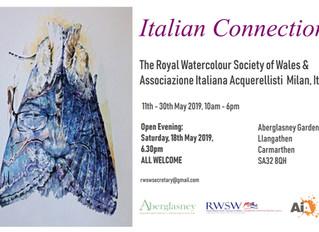Royal Watercolour Society of Wales @Aberglasney Gardens