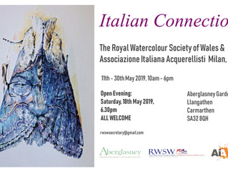 Royal Watercolour Society of Wales @Aberglasney Gardens