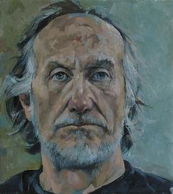 Glenn Ibbitson Lockdown Self Portrait 1.