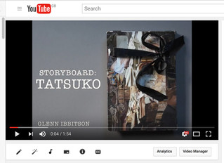 """TATSUKO""  the storyboard"