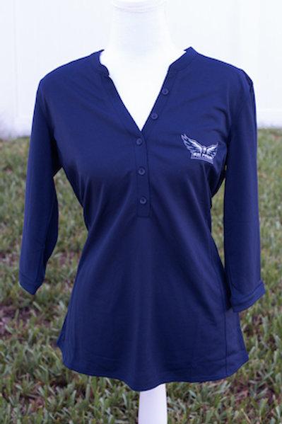 Ladies Performance Shirt Navy