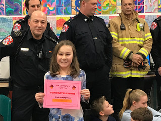 Congratulations to our Fire Safety Week Winners!