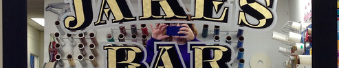 Jakes Bar Mirror