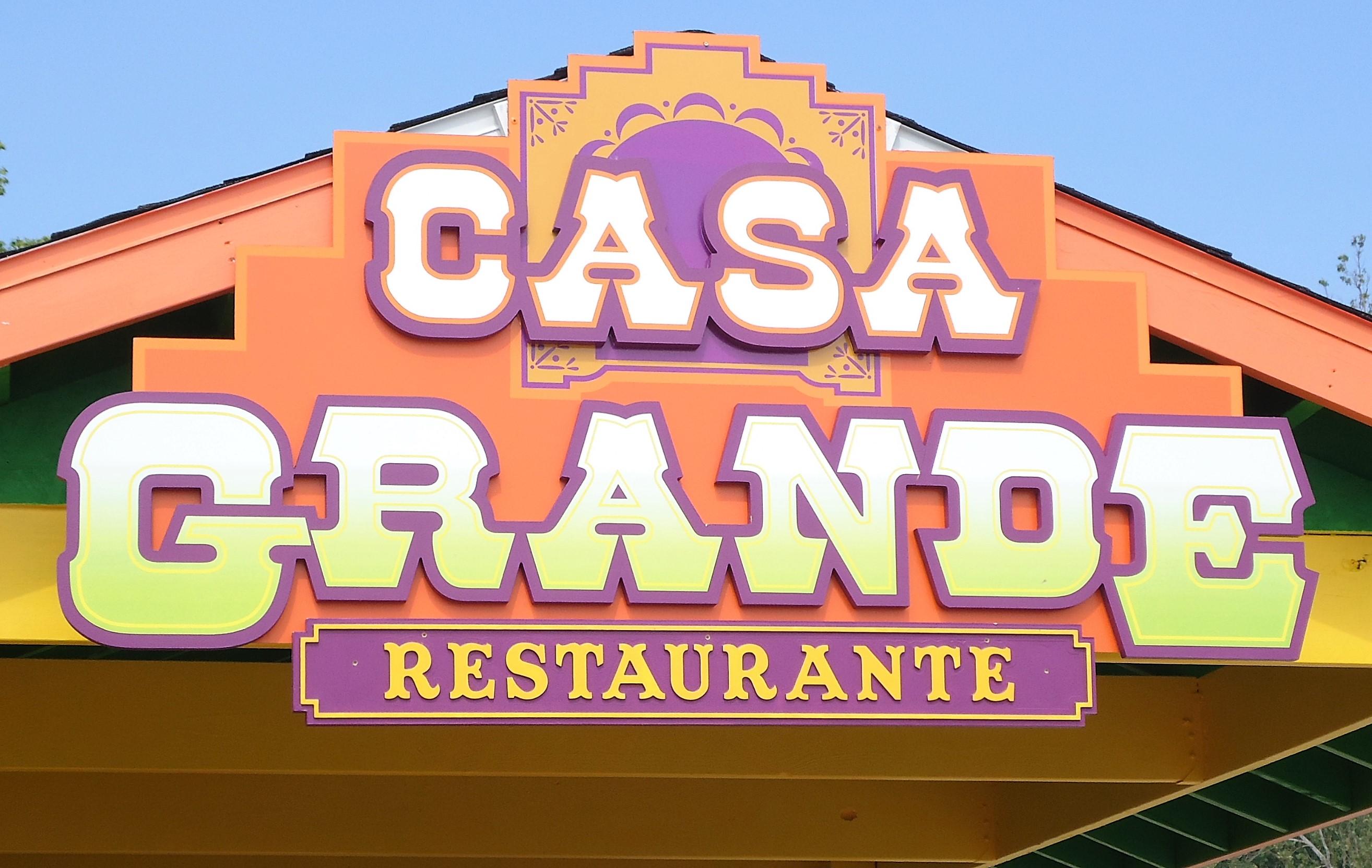 Casa Grande on end