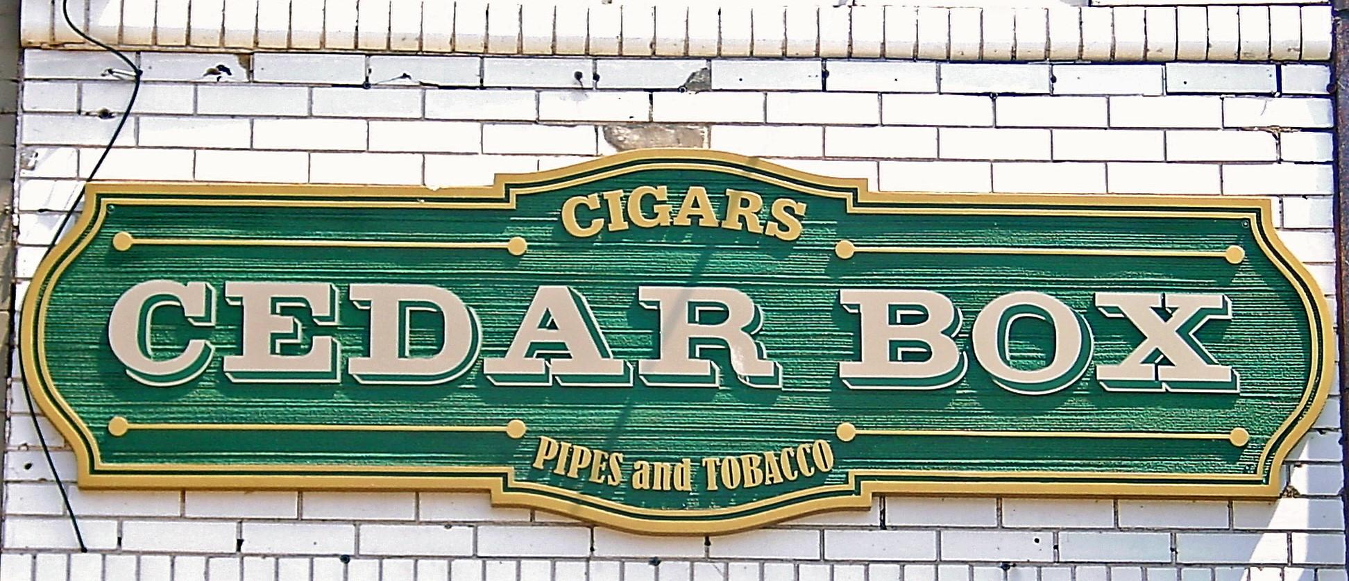 Cigar Box Cedar Box