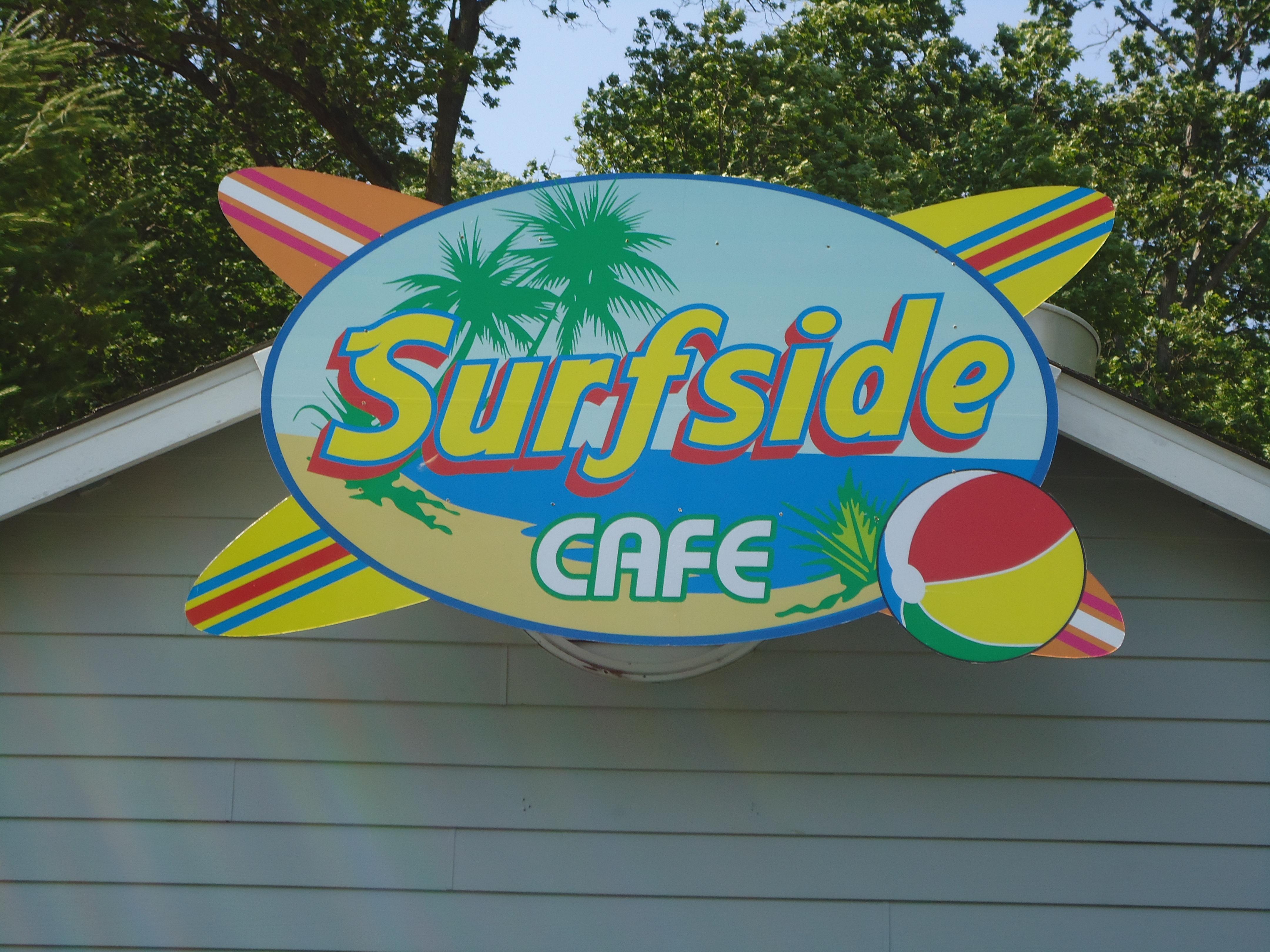 Surfside Cafe close up