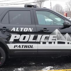 Alton Police Department White Reflective