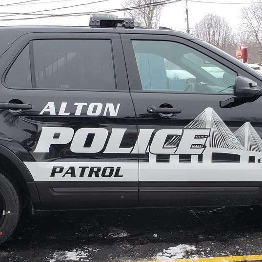 Alton Police Department White Reflective
