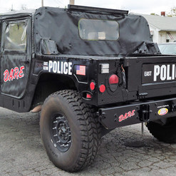 East Alton Police Department DARE Hummer