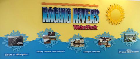 Raging Rivers hallway