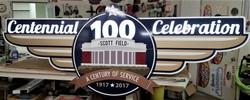 Scott Field 100th