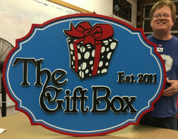 The Gift Box and Steve