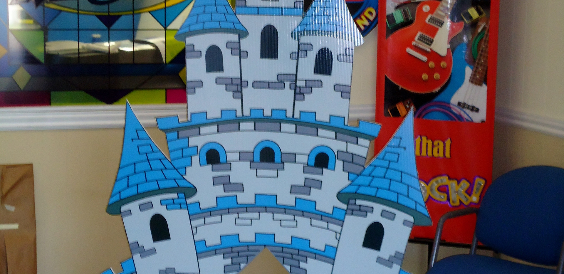 Kid's castle for Larry Burton