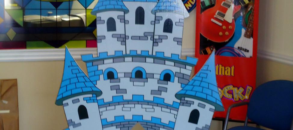 Kid's castle for Larry Burton