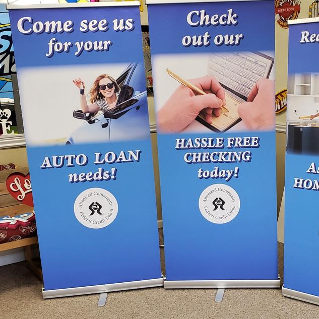 Retractable Banners Altonized Federal CU