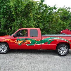 Ricky's new Dragon truck